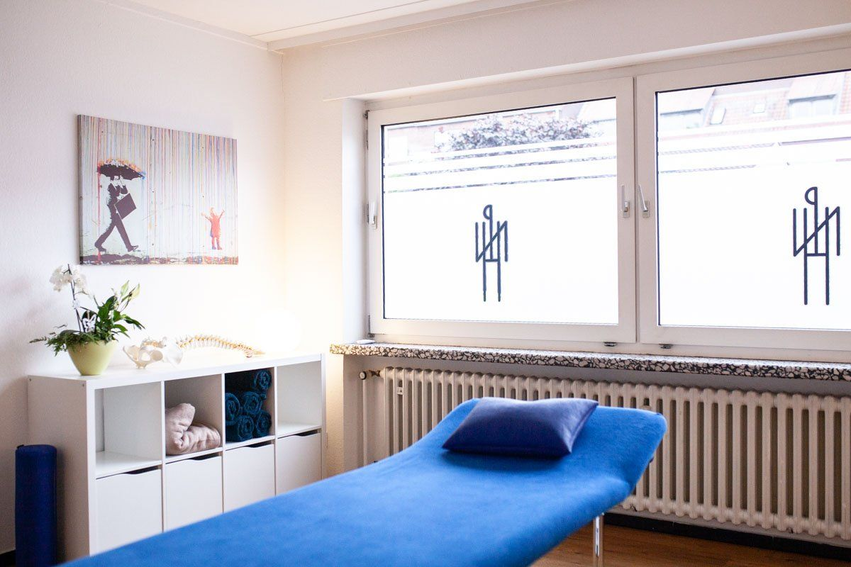 Praxis Niels Hupe Physiotherapie Therapieraum