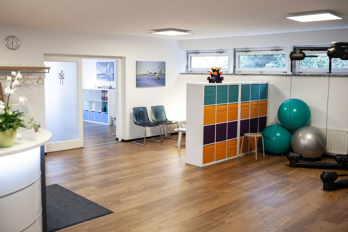 Praxis Niels Hupe Physiotherapie Wartebereich